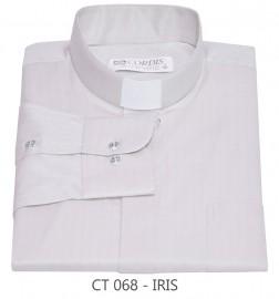 Camisa Clerical Tradicional Irís Manga Longa