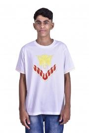 Camisa Crisma Branca Infantil S023
