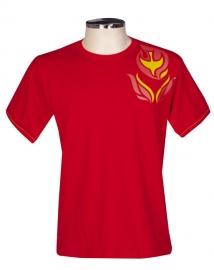 Camisa Crisma Vermelha Infantil S057