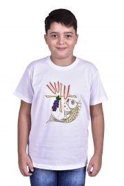 Camisa Eucaristia Infantil S065
