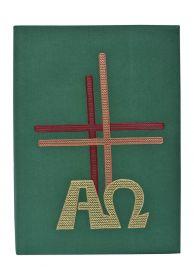 Capa de Evangeliário Alfa Ômega CE093