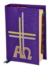 Capa Missal Alfa e Ômega Jacquard CM102