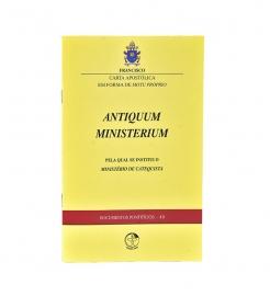 Carta Apostólica Antiquum Ministerium Documento Pontifício 48 Kit com 20 livros