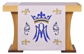 Coleção Altar Santa Maria com Véus de Altar e Capas de Livros
