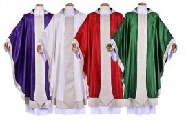 Conjunto Casula Santo Agostinho CS091 com 4 cores