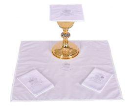 Conjunto de Altar Algodão Peixe e Pão B009