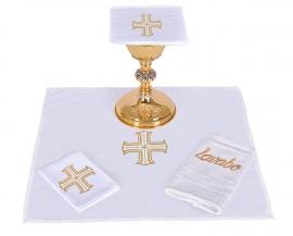 Conjunto de Altar Algodão Cruz Redentora CA106