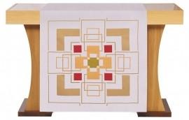 Conjunto Véu de Altar e Estante Cruz S197 S198 com 5 cores