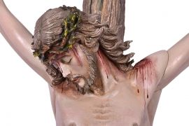 Crucifixo de Parede Fibra 4188 200cm