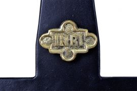 Cruz Processional Tradicional Ferro