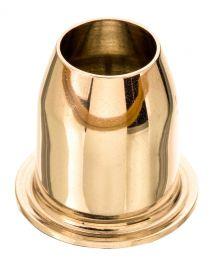 Economizador de Vela 25 mm - Dourado ou Niquelado
