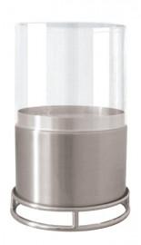 Economizador de Velas com Vidro 70mm Niquelado