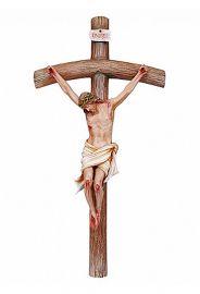 Imagem Cristo Crucificado Fibra 300cm