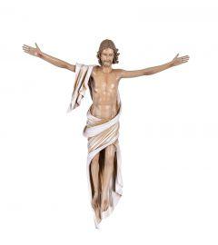 Imagem Cristo Ressuscitado Fibra 40cm