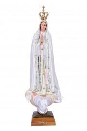 Imagem Nossa Senhora de Fátima Fibra 70cm
