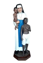 Imagem Santa Dulce dos Pobres Marmorez 100cm