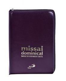 Missal Dominical Assembleia Cristã com zíper