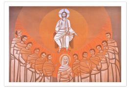Painel Pentecostes 13002 73 x 48cm