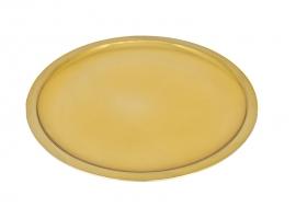 Patena para Cálice F189 Dourada 19 cm