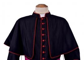 Peregrineta Episcopal Lã Fria Preta PR603