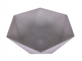 Pia Batismal 424606 Cinza 42x42x17cm