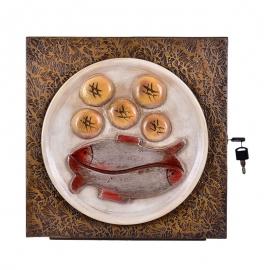 Sacrário Mesa Pão e Peixe 14 Modelo 01