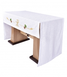 Toalha Altar 075 Bordada Frontal PX TO202 Bordado 172 cm