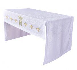Toalha Altar Bordada 075 Mariana TO200 Bordado 165cm