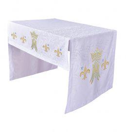 Toalha Altar Bordada 075 Mariana TO220 Bordado 112cm