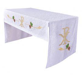 Toalha Altar Bordada 075 PX TO202 Bordado 172cm