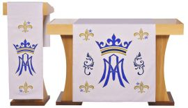 Conjunto de Véus Altar e Estante Santa Maria S204 S205