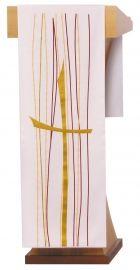 Véu de Estante Pentecostes Bege S202