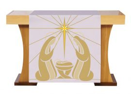 Véu de Altar para Celebrações do Natal S230