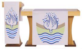 Conjunto de Véus Altar e Estante Batismo S225 S226