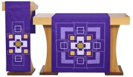 Conjunto de Véus Altar e Estante Cruz S196 S197