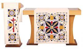 Véus de Altar e Estante Quaresma Sementes S080 S081