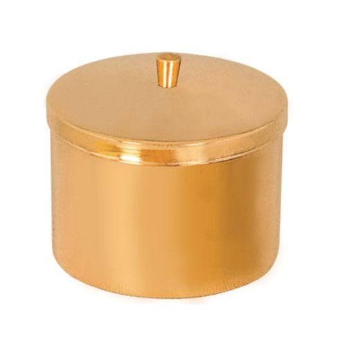 Caixa Hóstia Dourada 10 cm 7103
