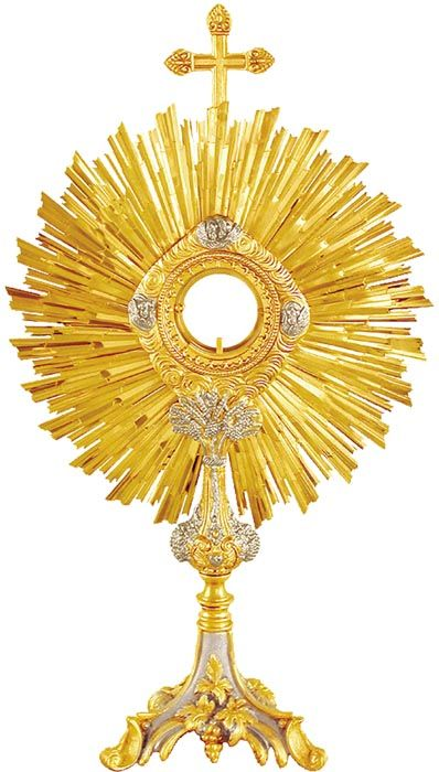 Ostensório Réplica Antiga 636