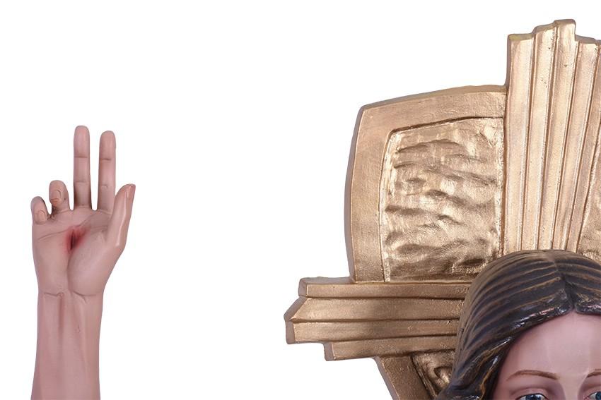 Imagem Cristo Ressuscitado Resina 140cm