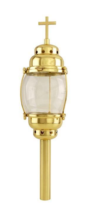 Lanterna Procissão de Mesa - Dourado