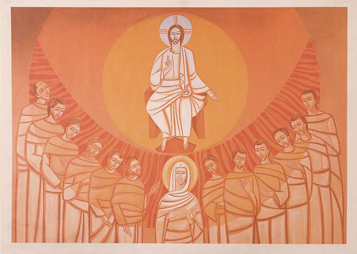 Painel Pentecostes 13338 100 x 143cm
