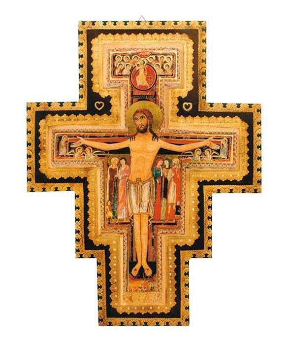 Cruz São Damião ZD02 40 x 50cm
