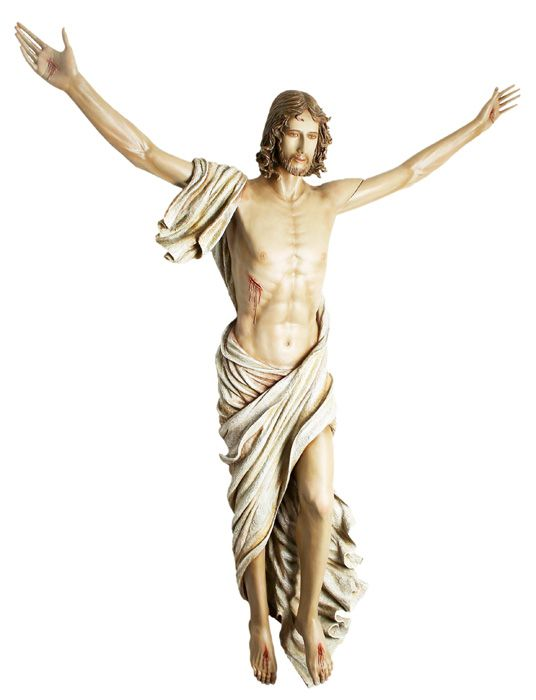 Imagem Cristo Ressuscitado Fibra 150cm 4141