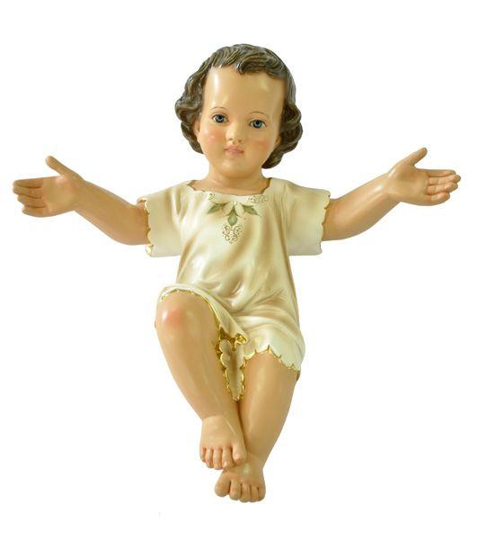 Imagem Menino Jesus Clássico Resina 50cm