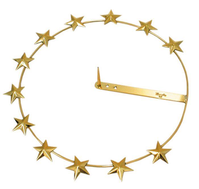 Auréola com Estrela A102 20,5cm