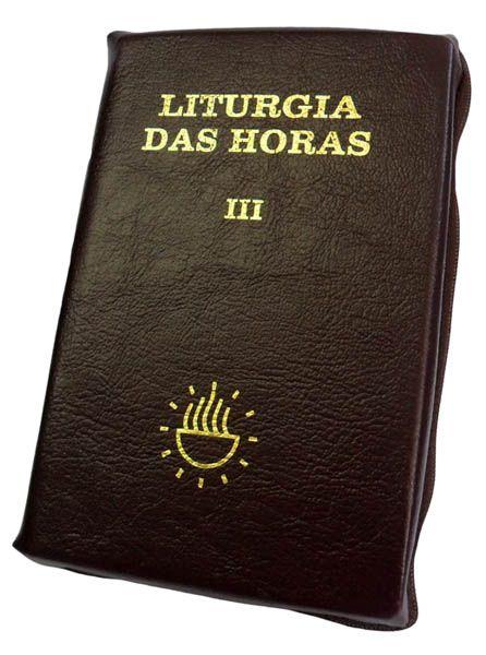 Liturgia das Horas Vol. III com zíper