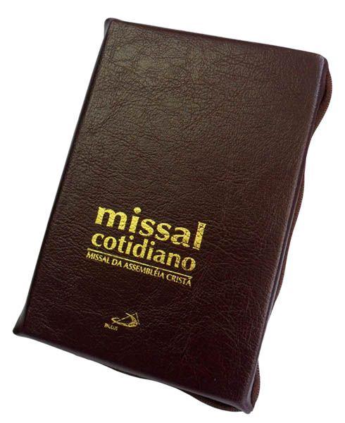 Missal Cotidiano c/ zíper