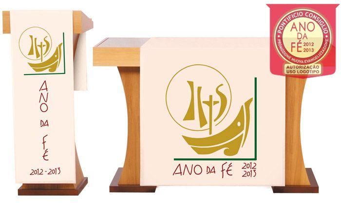 Véu S163  de Altar Ano da Fé