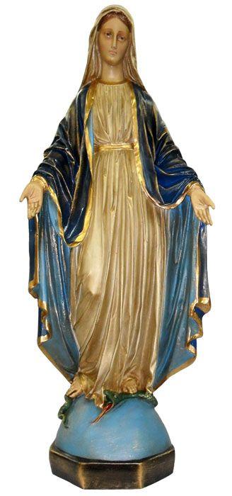 Imagem Nossa Senhora das Graças Resina 70cm