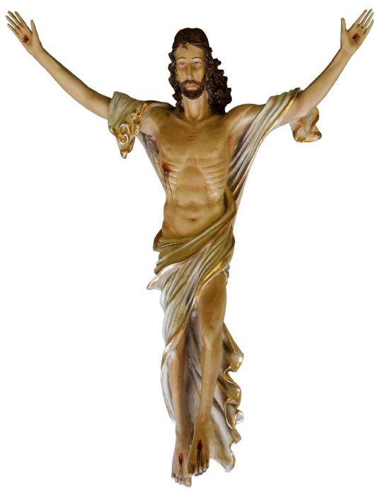 Imagem Cristo Ressuscitado Resina 100cm